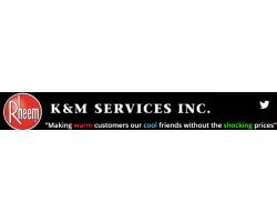 K & M Services Inc. logo