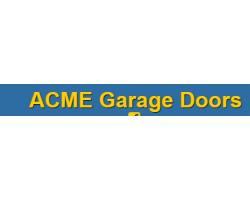 ACME Garage Doors logo