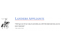 Landers Appliance logo