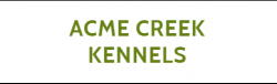 Acme Creek Kennels logo