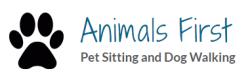 Animals First Pet Sitting logo