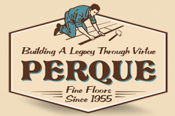 Welcome to Perque Fine Floors Since 1947 logo