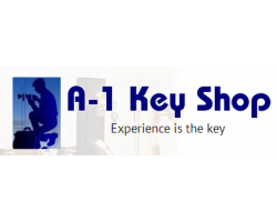 A-1 Key Shop logo