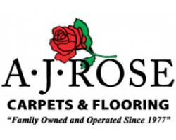 A.J. Rose Carpets & Flooring logo
