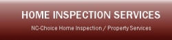 NC-Choice Home Inspection Service logo