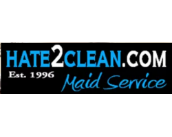Hate2clean.com Maid Service logo