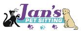 Jan's Pet Sitting logo