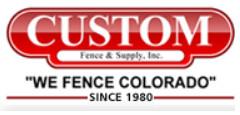 Custom Fence & Supply, Inc. logo