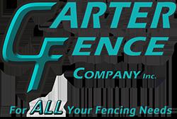 Carter Fence Company logo