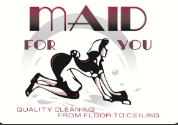 Maid For You, Inc. logo