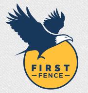 First Fence Company logo