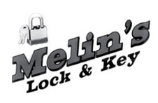 Melin's Lock & Key logo
