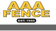 AAA Fence logo