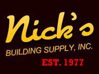 Nick's Building Supply logo