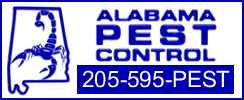 Alabama Pest Control logo