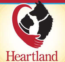 Heartland Animal Hospital logo