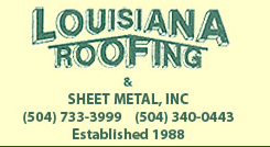 Louisiana Roofing and Sheet Metal, Inc. logo