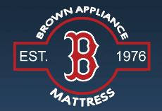 Brown Appliance and Mattress logo