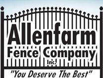 Allenfarm Fence Company logo