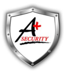 A Plus Security logo