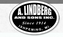 A. Lindberg & Sons, Inc. Gravel Pit logo