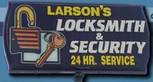 Larson's Locksmith & Security Inc. logo
