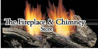 The Fireplace & Chimney Store logo