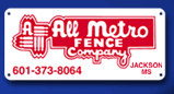 All Metro Fence Company logo