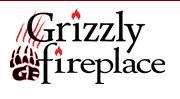 Grizzly Fireplace logo