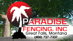 Paradise Fencing INC. logo