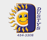 Dusty's Sprinklers logo