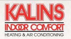 Kalins Indoor Comfort logo