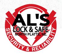Al's Lock & Safe Inc. logo