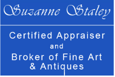 Suzanne Staley, Certified Appraiser & Broker of Fine Art & Antiques logo