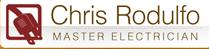 Chris Rodulfo Master Electrician logo