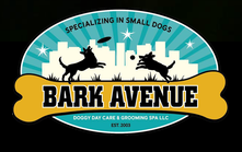 Bark Avenue Doggy Day Care & Grooming Shop logo