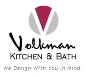 Volkman Kitchen & Bath logo