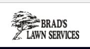 Brad's Lawn Service logo