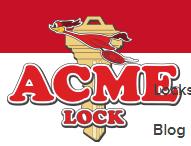 Acme Lock & Hardware logo