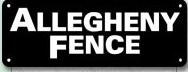Allegheny Fence Construction Company logo