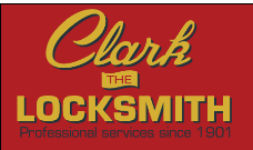 Clark The Locksmith logo