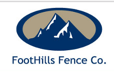 FootHills Fence Co. logo