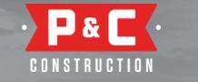 P & C Construction, Inc. logo