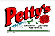 Petty's Irrigation & Landscape logo