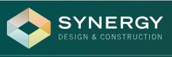 Synergy Design & Construction. logo