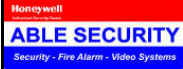 ABLE SECURITY & FIRE SYSTEMS logo
