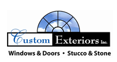 Custom Exteriors, Inc. logo