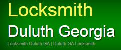 Locksmith Duluth Georgia logo