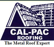 CalPac Roofing logo