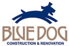 Blue Dog Construction logo